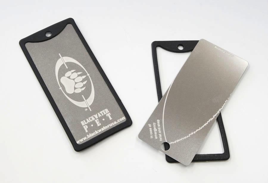 画像1: 緊急カードナイフ 緊急限定・サバイバルカードナイフ (1)