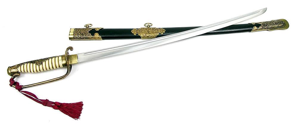 画像1: 大日本帝国海軍装飾刀 海軍士官軍刀