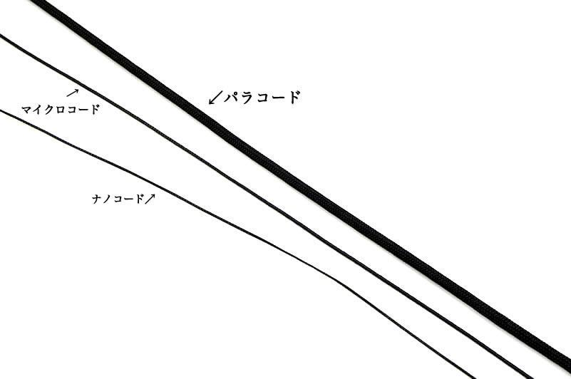 画像2: マイクロコード 強度抜群特殊ナイロンコード