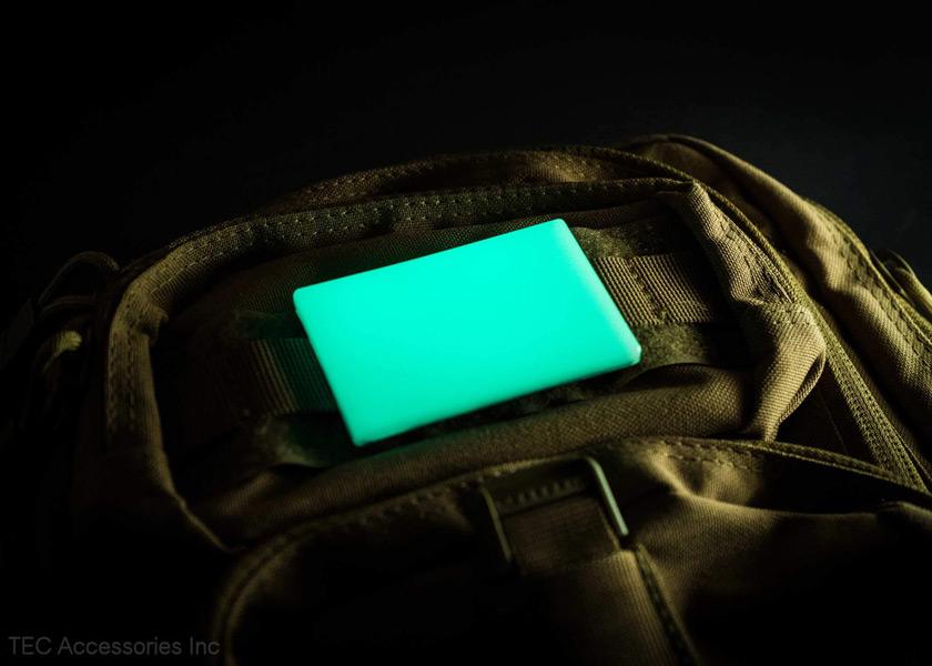 画像2: ビーコンモラルパッチ高輝度蓄光マーカー