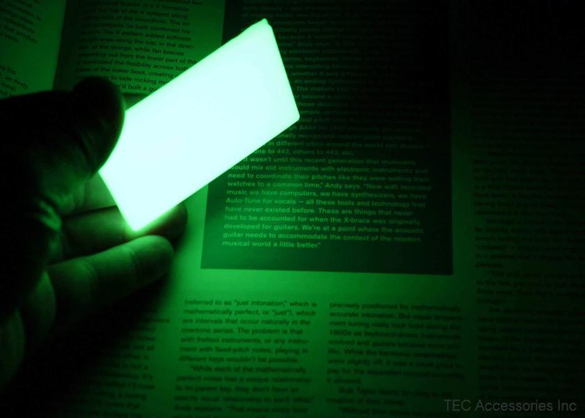 画像3: ビーコンモラルパッチ高輝度蓄光マーカー