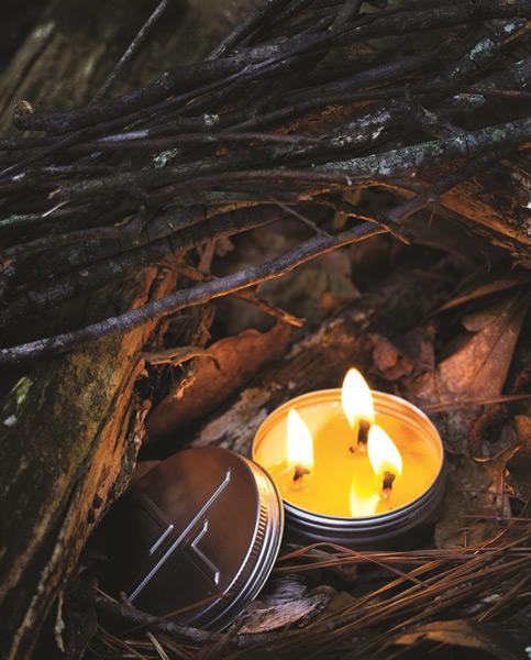 画像2: 非常用キャンドル 長時間燃焼蜜蝋ローソク