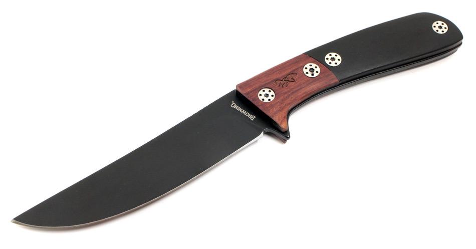 画像1: ハンティングブラックナイフ