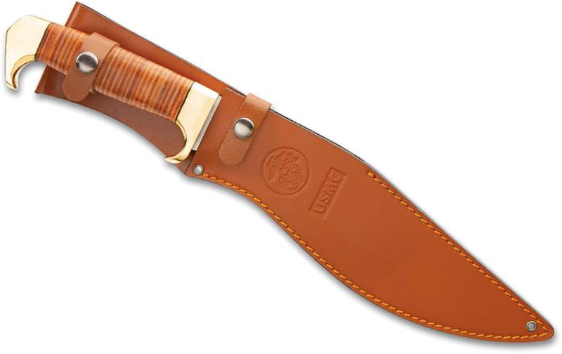 画像3: USMC公認スタッグレザーハンドルククリナイフ