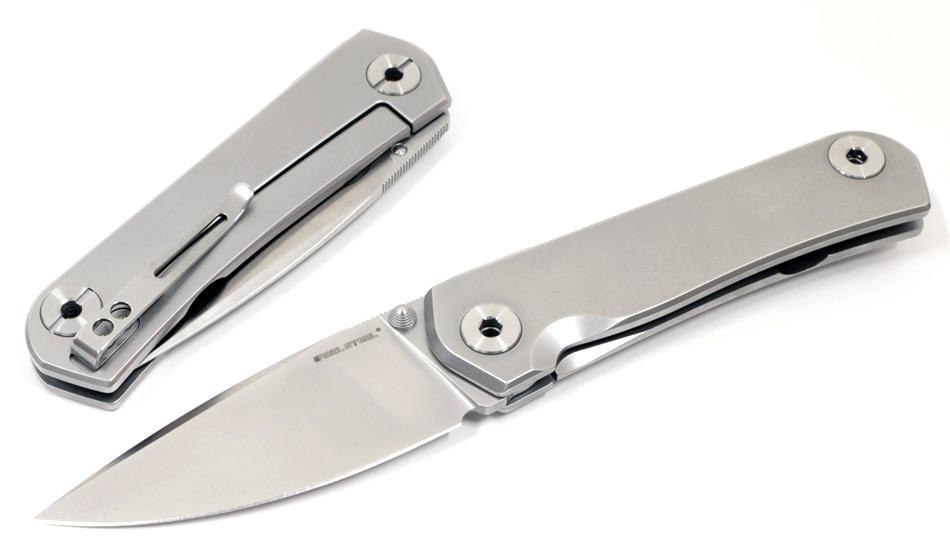 画像1: ファスマD2鋼フレームロックナイフ