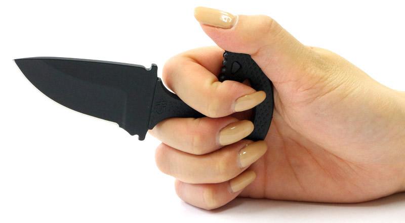 画像3: パンチタンティカルプッシュナイフ