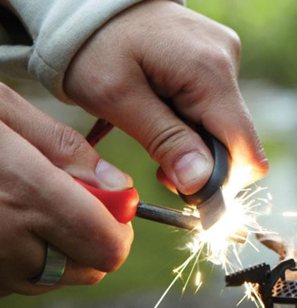 画像2: 新型火打石 コンパクトファイヤースターター