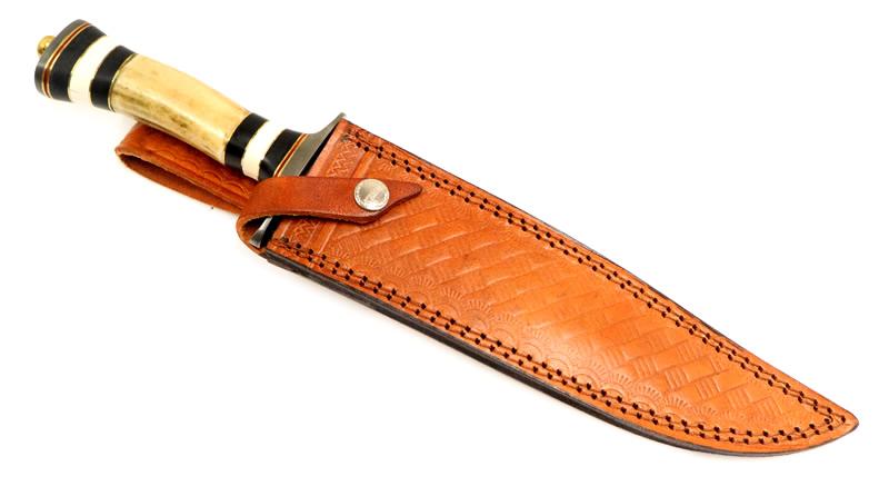画像3: スタッグダマスカスボウイナイフ