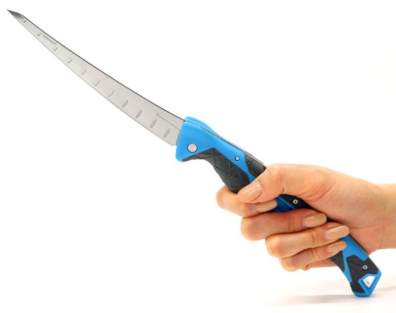 画像2: コントローラーロックバックフィレットナイフ