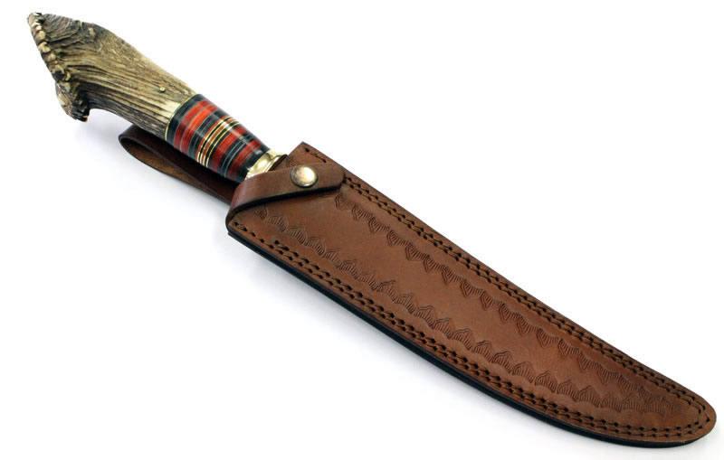 画像3: ダマスカススーパーロングハンターナイフ
