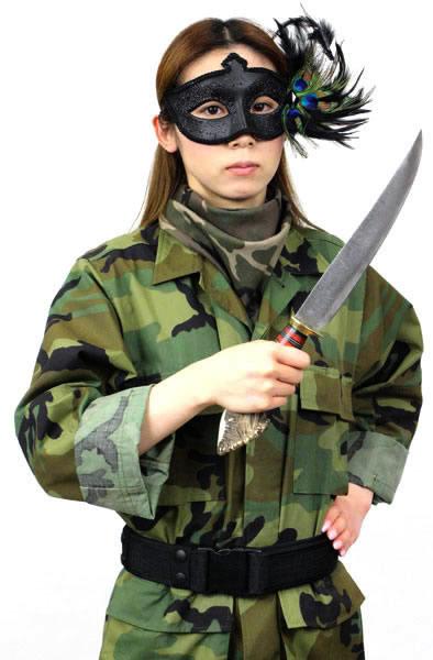 画像2: ダマスカススーパーロングハンターナイフ