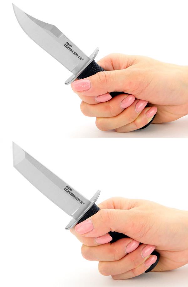 画像2: ミニレザーネックナイフ