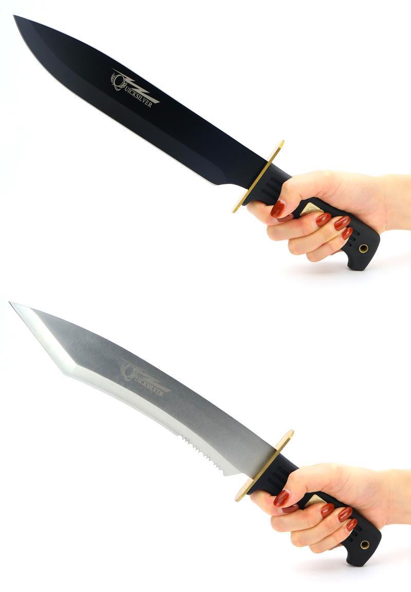 画像2: ビックバット クイックストレートブレードナイフ&タントーナイフ