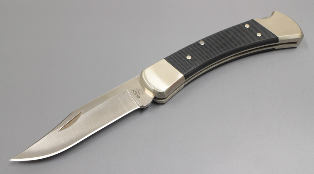 画像1: Buck 110フォールディングハンタープロナイフ