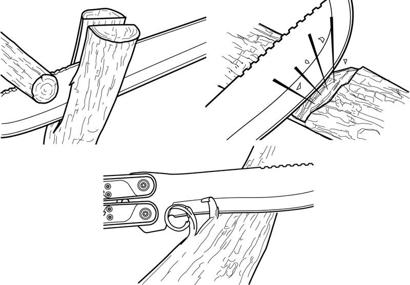 画像5: ガーバー ダブルダウンマシェットナイフ