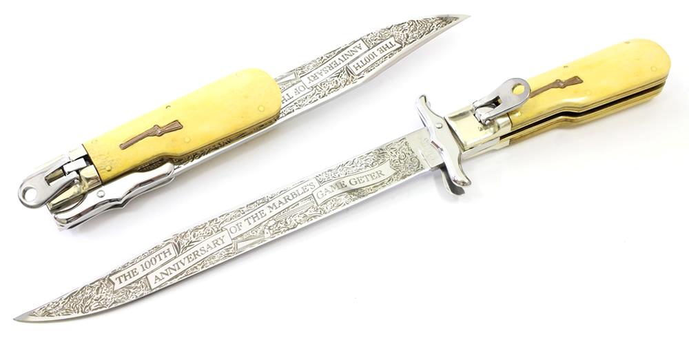 画像1: 100周年記念 オールド ボーイハンターナイフ