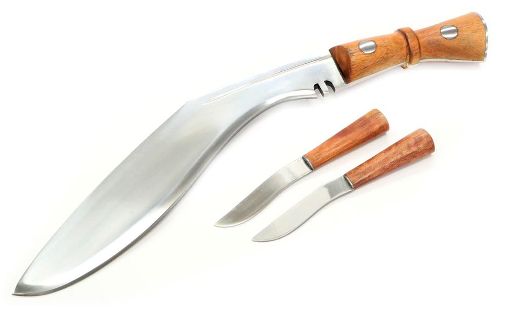 画像1: インド軍ククリナイフ アローマーク付き(グルカナイフ)