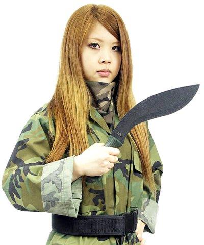 画像1: ハードテフロンコーティングブレード ミニククリナイフ