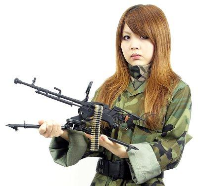 画像1: 中国人民解放軍 54式高速高射砲